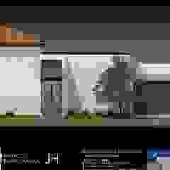 arquitectura+proyectos บ้านและที่อยู่อาศัย คอนกรีตเสริมแรง White