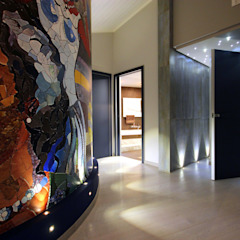 کرجی مدیترانه، راهرو و پله ها توسط Studio Ferlenda مدیترانه ای