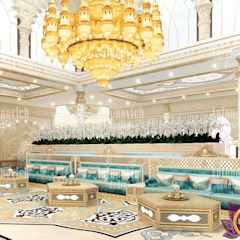 ​Restaurant interior design in Dubai from Katrina Antonovich Asian style houses by Luxury Antonovich Design Asian