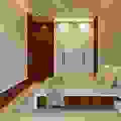 Residence at Pawai, Mumbai Minimalist bedroom by N design studio Minimalist