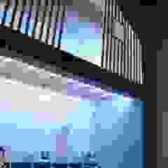 Aménagement d'une chambre d'enfants Kauri Architecture Chambre garçon Bois Bleu