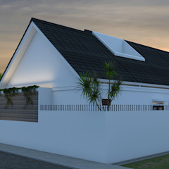 de BALCON ARCHITECTS Moderno