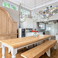 House Ashford Eclectic style dining room by Oksijen Eclectic