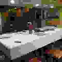 Nueva sede de estudioZBR & asociados Edificios de oficinas de estilo rústico de estudioZBR & asociados Rústico Derivados de madera Transparente