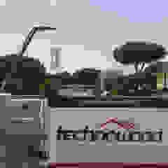 Technowood srl Modern Houses Wood