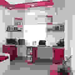 Modern study/office by mayu interiors Modern Plywood