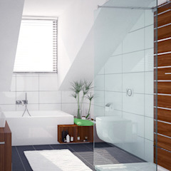 Bathrooms - Personal Projects Modern bathroom by Dedekind Interiors Modern