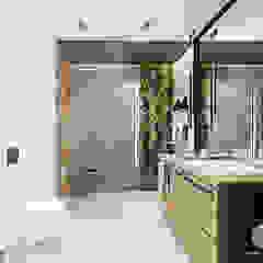 ŁAZIENKA KRAKÓW Industrialna łazienka od MADO DESIGN Industrialny