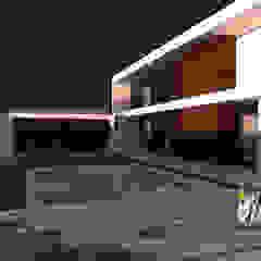 Casa AT por Método-Arquitectura & Decoração Minimalista