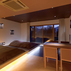 Hotel Dear Dog モダンなホテル の 株式会社KAMITOPEN一級建築士事務所 モダン