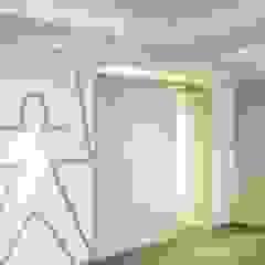 MY BIG BANG - Rue des Jeûneurs Espaces commerciaux modernes par Atelier Sylvie Cahen Moderne