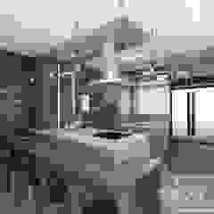 Cozinha por STUDIO 405 - ARQUITETURA & INTERIORES Industrial