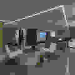Casa CS Sala multimediale moderna di GIAN MARCO CANNAVICCI ARCHITETTO Moderno