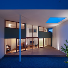 من 藤原・室 建築設計事務所 حداثي خشب Wood effect