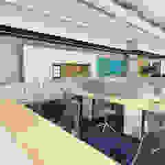 Virtual Reality Studio By Yantram virtual reality developer - San Francisco, USA de Yantram Architectural Design Studio Clásico Concreto