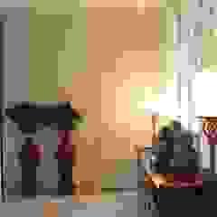 Asian style corridor, hallway & stairs by Studio Architettura Macchi Asian