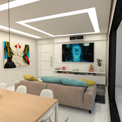 Apartamento 505 por STUDIO TERRASSE ARQUITETURA & INTERIORES LTDA Minimalista de madeira e plástico