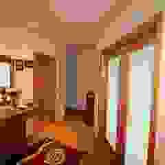 Apartamento T3 com excelente terraço. Referência: clix mais AP 306 Corredores, halls e escadas rústicos por Clix Mais Rústico