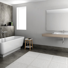 Luna Kollektion - skandinavisches Design für Ihr Badezimmer von Zicco Moderne Badezimmer von ZICCO GmbH - Waschbecken und Badewannen in Blankenfelde-Mahlow Modern Marmor