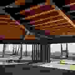 Maraú Beach Club | Vera | Puerto Rey Salones de eventos de estilo moderno de NavarrOlivier Moderno Madera Acabado en madera