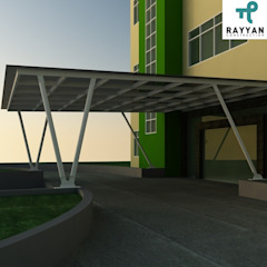 Office Exterior Oleh Eco-House Indonesia Industrial
