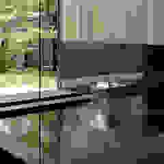 054那須Mさんの家 の atelier137 ARCHITECTURAL DESIGN OFFICE 和風 石