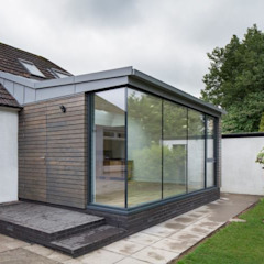 Bungalow Contemporary Extension Edinburgh من Mark Smith Glazing Ltd حداثي ألمنيوم/ زنك
