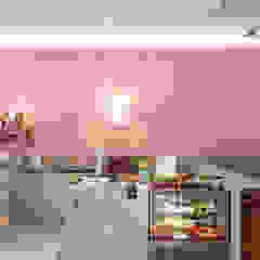 創喜設計 Commercial Spaces Wood-Plastic Composite Pink