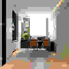 Arcoris Mont Kiara Scandinavian style study/office by Norm designhaus Scandinavian
