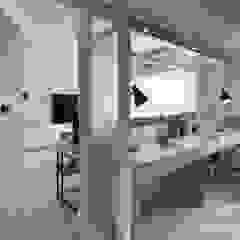 Scandinavian style study/office by 寓子設計 Scandinavian
