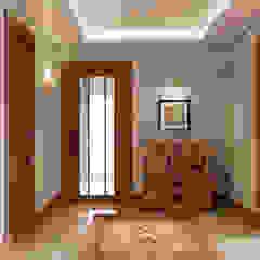 Pent House Apartment with middle eastern and oriental twist, Estoril Corredores, halls e escadas ecléticos por Inêz Fino Interiors, LDA Eclético