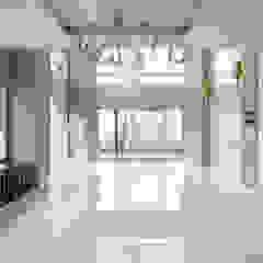 호텔같은 복층 펜트하우스 인테리어 클래식스타일 거실 by 디자인 아버 클래식