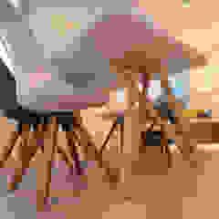 โดย Agence ADI-HOME สแกนดิเนเวียน ไม้ Wood effect