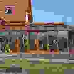 Ekskluzywny ogród zimowy Nowoczesny ogród zimowy od P.W. Przybylski Nowoczesny Aluminium/Cynk