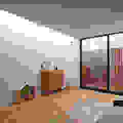 一級建築士事務所A-SA工房 Modern Living Room Wood Wood effect