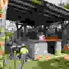 Tropische bars & clubs van NavarrOlivier Tropisch Hout Hout