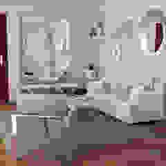Diseño interior Sala de Mauriola Arquitectos Minimalista