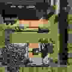 Projekt małego ogrodu w stylu nowoczesnym, Gdynia Wzgórze Bernadowo Nowoczesny ogród od STTYK - Pracownia Architektury Wnętrz i Krajobrazu Nowoczesny