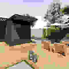 Residencial Modular - Contêiner por Rodrigo Westerich - Design de Interiores Industrial