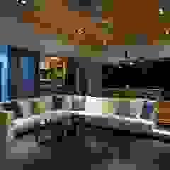 起居空間-迴廊概念 Modern living room by 敘述室內裝修設計有限公司 Modern