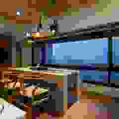 Modern dining room by 敘述室內裝修設計有限公司 Modern