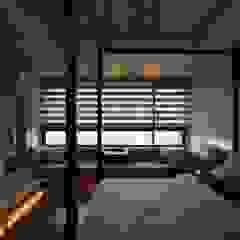 主臥房 Modern style bedroom by 敘述室內裝修設計有限公司 Modern