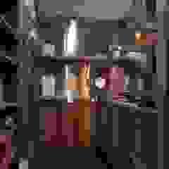 熱炒區 Modern kitchen by 敘述室內裝修設計有限公司 Modern