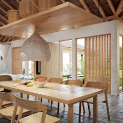 Hotéis tropicais por Adrede Diseño Tropical