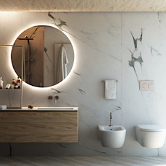 Anna Claudia Apartment Bagno in stile industriale di FRANCESCO CARDANO Interior designer Industrial