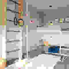 DM Central Park Eklektyczny pokój dziecięcy od Design studio TZinterior group Eklektyczny