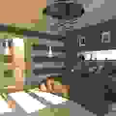 Camera da Letto - Modern Style Camera da letto moderna di Studio Piero Luigi Critelli Moderno