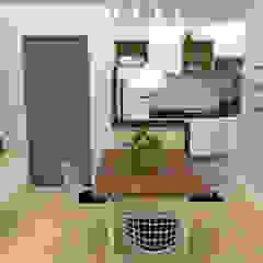 Apartamento Auri Salas de jantar escandinavas por Cara Nova Arquitetura Escandinavo