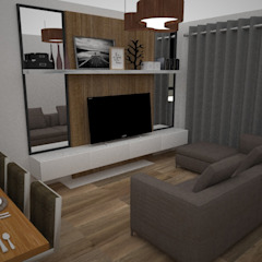 Modern Living Room by SindiyFiorella Modern