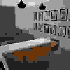 Cocina Integrada Pasillos, vestíbulos y escaleras modernos de SindiyFiorella Moderno